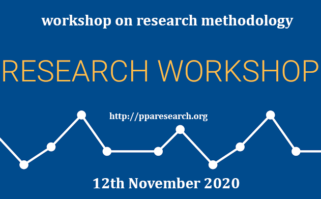 Workshop on Research Methodology on 12th November 2020 at BMC/MMC MARDAN