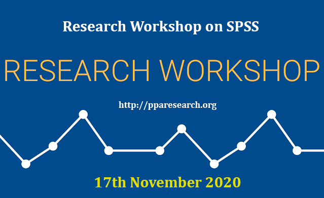 Workshop on SPSS on 17th November 2020 at Khyber Institute of Child Health/KICH